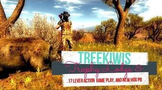 .17 Lever action game play and PB Feral Hog