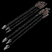 Arrows recurve standard brown 256