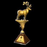 Trophy elk gold