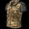 Jacket arid camo