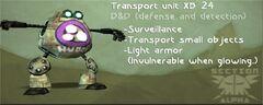 Transport unit xb 24-article