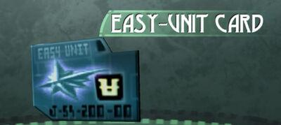 Easy-Unit Card