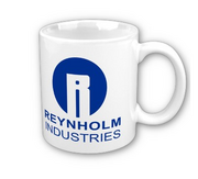Reynholm Industries mug