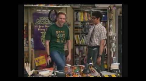 The American adaption of The IT Crowd