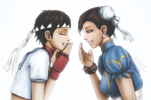 File:A sakura and chun li giggly conversation by kros2692-d4md9y9.jpg