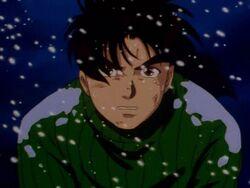 Hajime Kindaichi Attacked at Tarot Mountain Hut (Anime)