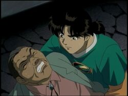 Seisuke Suzaku Attacked (Anime)