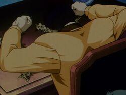 Masashi Hiruta's Dead Body (Anime)