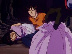 Seimaru Tatsumi's Dead Body (Anime)
