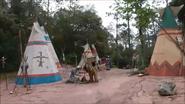 Indian encampment
