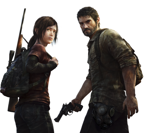 File:Joel and Ellie in The Last of Us PNG.png