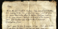 Father's Note