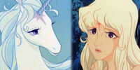The Unicorn/Lady Amalthea