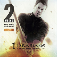 The Librarians two weeks poster