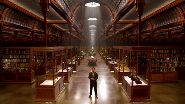 File:Flynn greeting the Lits in the Library.png