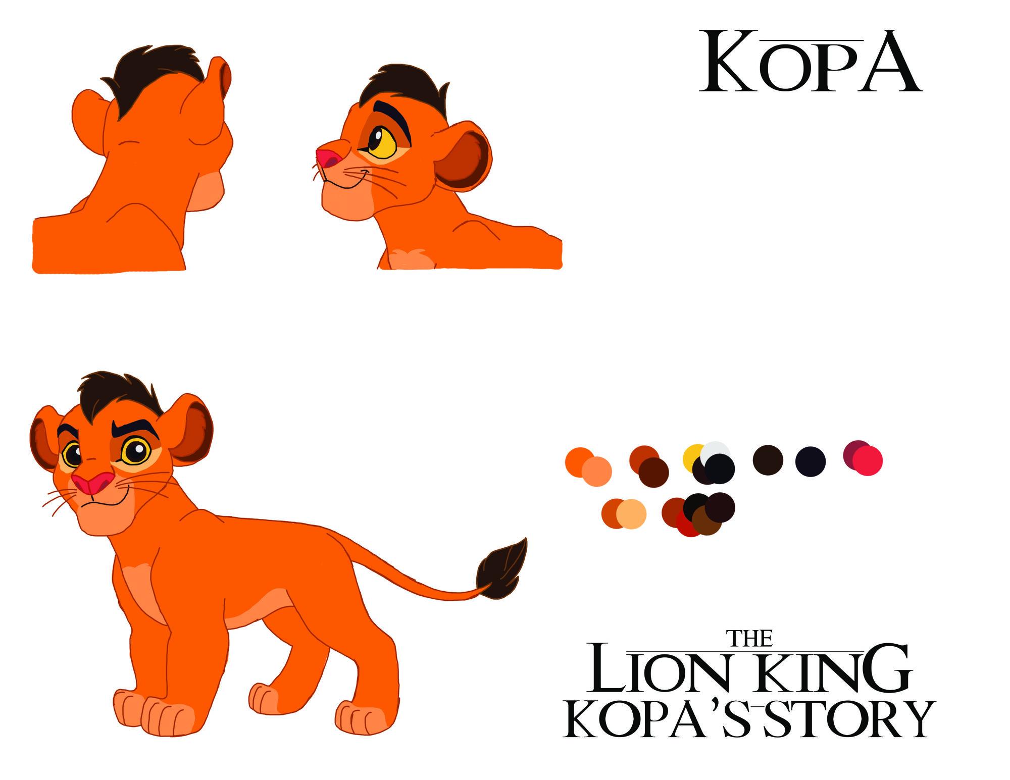 The Lion King: Kopa's Story (Comic) | The Lion King Fanon ...