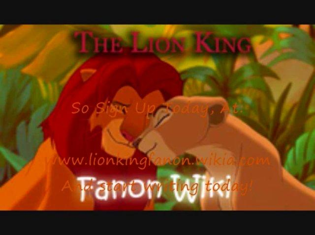 The Lion King Fanon Wiki Ad