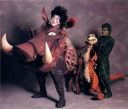 TLK musical Timon Pumbaa