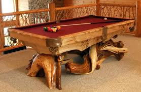 Cabin pool table