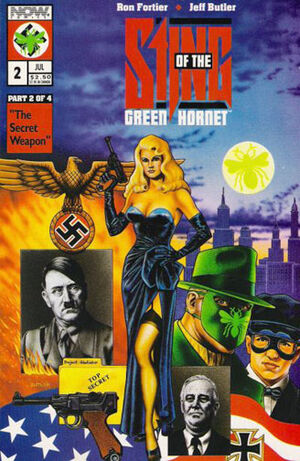 Sting of the Green Hornet Vol 1 2