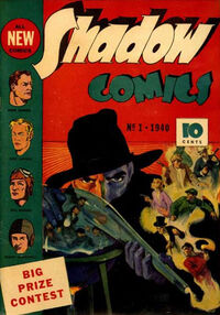 Shadow Comics Vol 1 1