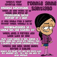 Ronnie Anne Q&A