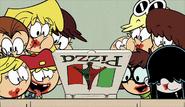 SOL Loud Sisters eye the pizza