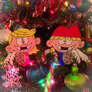 Lola Lana Christmas ornaments