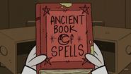 S2E15B Ancient book of spells
