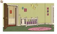 S1E10B Lily crib