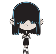 The Loud House Lucy with Crossed Arms