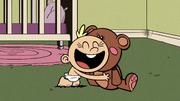 S2E12B Lily hugs the teddy bear