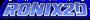 RoniX2D Blue Logo
