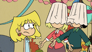 S2E09B Parents wearing lampshades