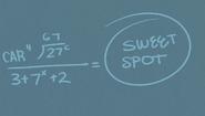 S1E04A Lisa's Sweet Spot equation 4