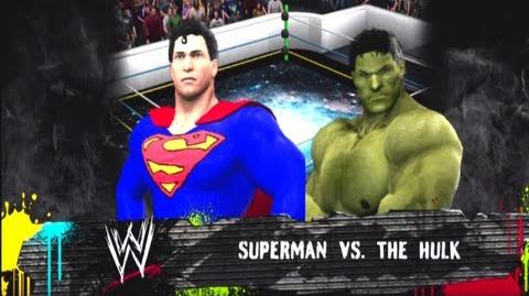 Superman vs The Incredible Hulk Man of Steel Movie Promo