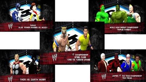 M4GNation - Galactic Throwdown PPV (6-24-12) WWE 12
