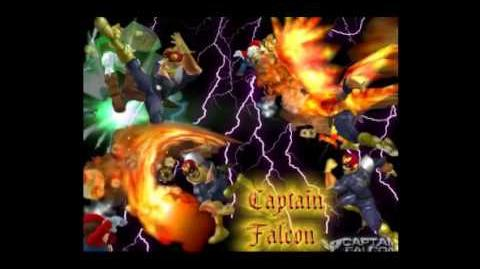 Super Smash Bros Melee Captain Falcon theme