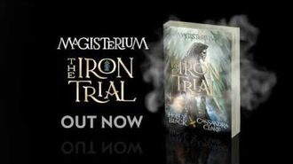 MAGISTERIUM THE IRON TRIAL Trailer by Holly Black and Cassandra Clare-1