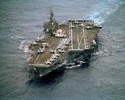 750px-970414-N-0789S-003 USS Constellation (CV 64) underway