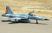 F-5N from VFC-111 Sundowners taxiing