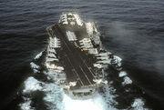 800px-USS John F Kennedy (CV 67) stern view 1982