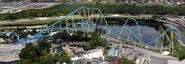 SeaWorld Kraken Roller Coaster Overview