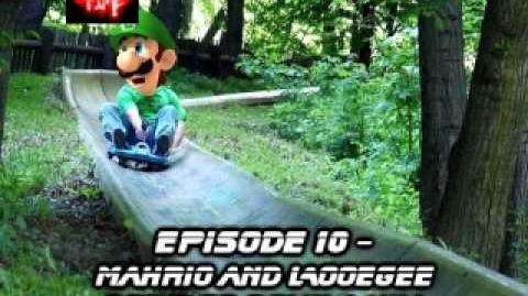 Mahrio and Looegee Bobsled Down a Hill