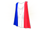 Costume France Cape