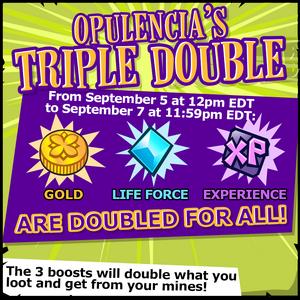 Event Triple Double Announcement