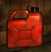 Item Thumber Gasoline Canister