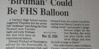 'Birdman' Could Be FHS Balloon