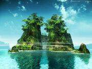 Mirage island