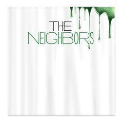 The Neighbors Shower Curtain